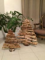 arbre de noel  bois naturel