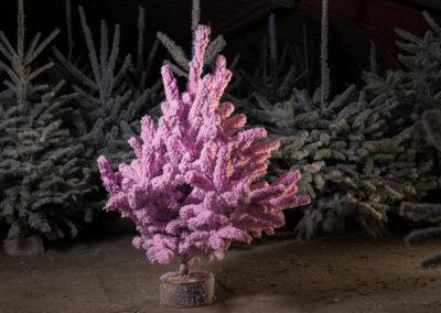 sapin-floqué-rose-pastel