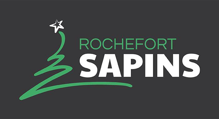 Logo Rochefort Sapins - spécialiste du sapin de noël et des éléments de décoration naturels